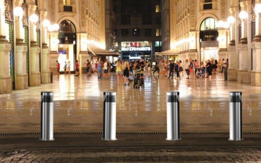 D Polo Inox Bullard Bollards Lighting