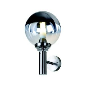 GLASS SPHERE LAMPSHADE WALLMOUNT Bullard Bollards Lighting