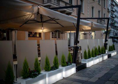 Lighting Project Restaurant Bullard Bollards