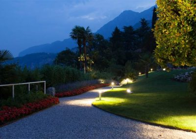 Lighting Project Villa Lario - Bullard Bollards (1)