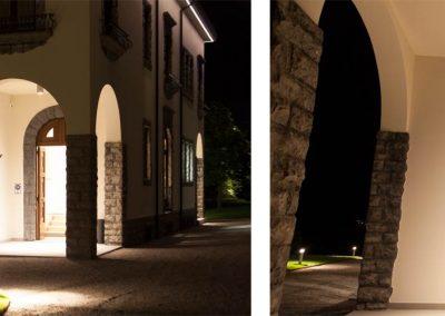 Lighting Project Villa Lario Bullard Bollards