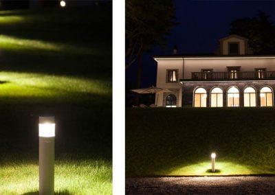 Lighting Project Villa Lario - Bullard Bollards (5)
