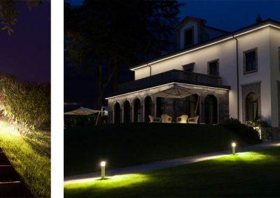 Lighting Project Villa Lario - Bullard Bollards (6)