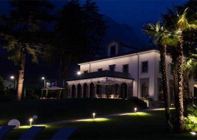 Lighting Project Villa Lario - Bullard Bollards (7)