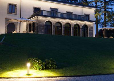 Lighting Project Villa Lario - Bullard Bollards (8)