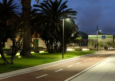 Lighting Project Walkway and Cycle Path Bullard Bollards