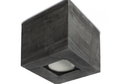 Outdoor LED ceiling lamp in CONCRETE 1094-3012 - Bullard Bollards Lighting (3)