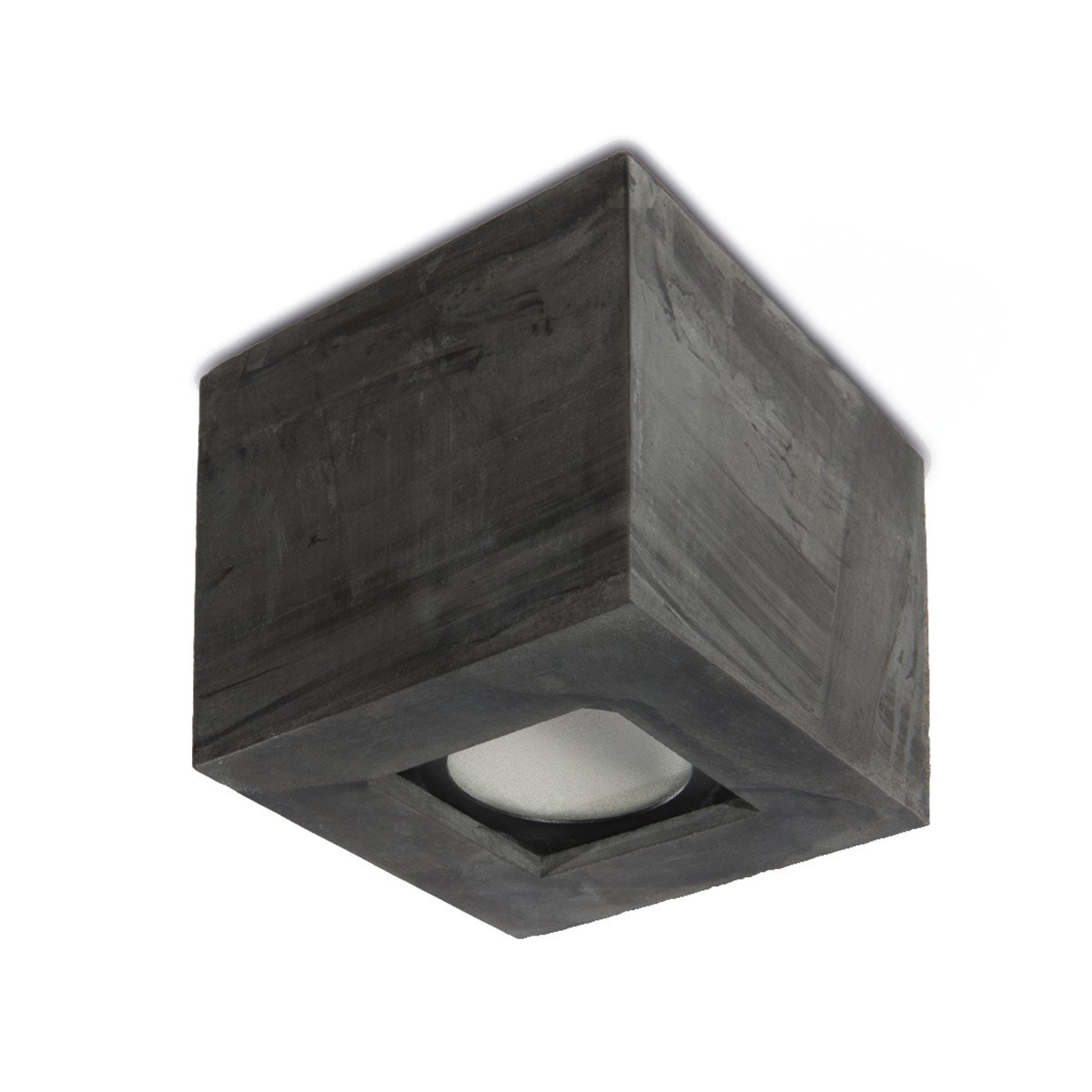 Outdoor LED ceiling lamp in CONCRETE   Bullard Bollards Lighting