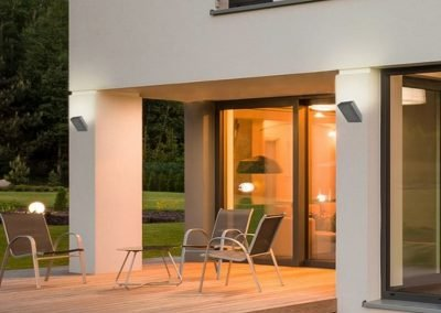 Outdoor LED wall lamp in CONCRETE 1089-3011 (2)
