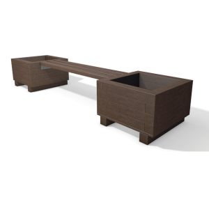 iona bench planter