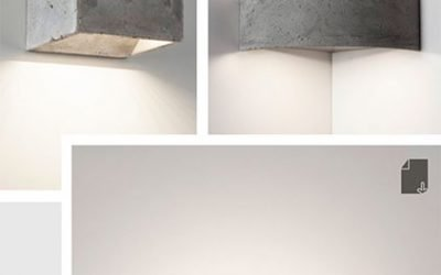 CONCRETE COLLECTION of Wall Lights